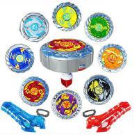 魔幻陀螺2代套装对战斗盘拉线发光焰天火龙王男孩儿童玩具1