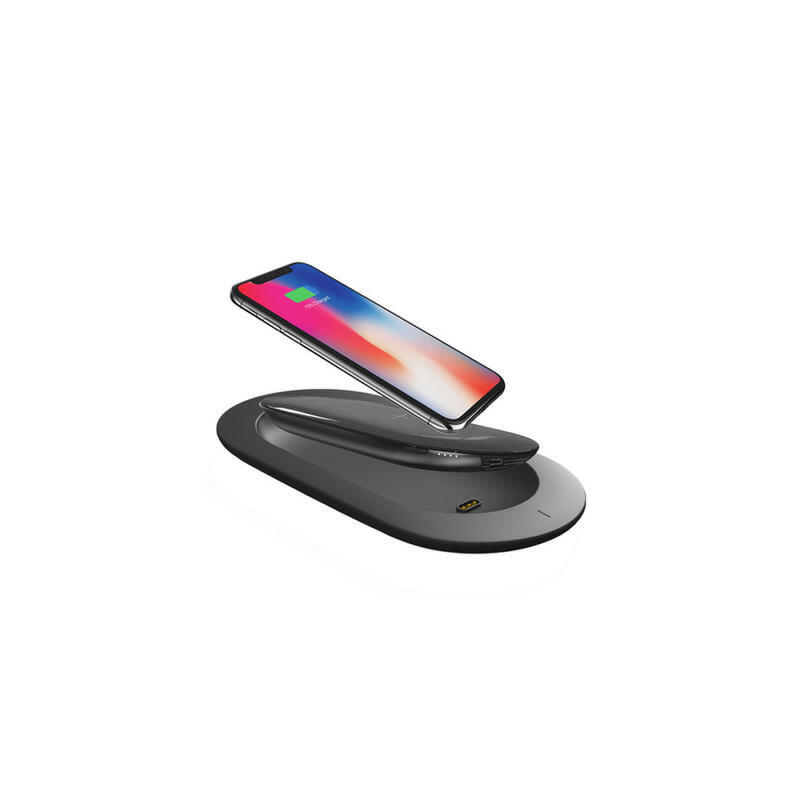 MIPOW苹果X无线充电宝iPhoneX无线充电器双用移动电源便携快充8P 适用于所有QI标准设备