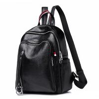 双肩包女包新款女士背包简约大容量休闲包旅行包 软皮大包 亏本冲量