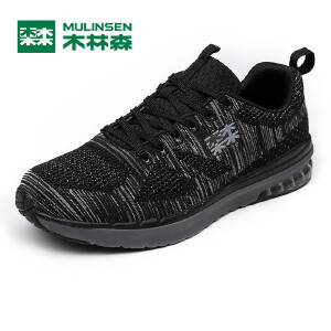 木林森男鞋 新款男士户外运动休闲鞋 透气舒适男运动鞋05177621