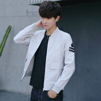 秋冬夹克潮修身上衣外套男装外穿时尚都市长袖韩版男士秋季