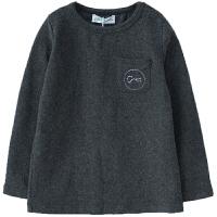 秋季男女童打底衫中大童上衣潮圆领长袖洋气t恤
