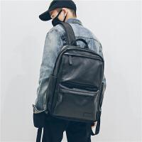 潮男双肩包男士商务背包旅行防雨百搭电脑书包时尚潮流