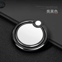 指环支架手机环指扣磁吸指坏拉环支环扣手指扣环女手环壳苹果通用创意个性多功能 太极黑-抛光打磨 圆滑贴合不掉色