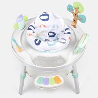 婴儿玩具多功能跳跳椅哄娃宝宝音乐脚踏钢琴健身架