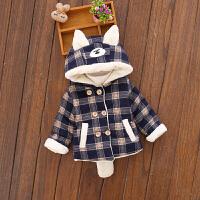 儿童宝宝冬装棉衣外套男童婴儿小童衣服潮