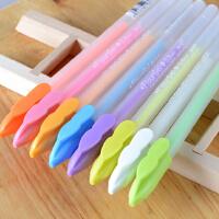 晨光粉彩贺卡笔AGP61303彩色水粉笔diy相册黑卡用中性笔