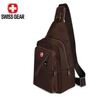 SWISSGEAR瑞士军刀胸包 时尚潮流男士斜挎单肩包 多功能休闲挎包