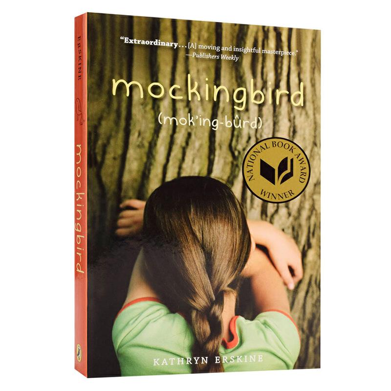 【中商原版】知更鸟 2010年美国国家图书奖 英文原版 Mockingbird Kathryn Erskine Puffin Books