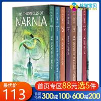 英文原版 The Chronicles of Narnia 纳尼亚传奇平装 7册盒装 C.S.LEWIS 青少年奇幻小说