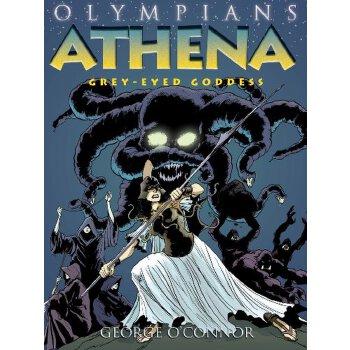 Athena: Grey-Eyed Goddess (Olympians) 美国发货无法退货,约五到八周到货