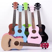 尤克里里23寸入门小吉他 桃花心木指板儿童大人初学乌克丽丽ukulele