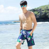 男士游泳裤 宽松长腿休闲五分有加大 海边度假沙滩裤 支持礼品卡支付