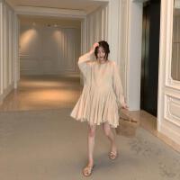 夏季新款韩版气质女士拖鞋交叉带露趾休闲平底鞋凉鞋