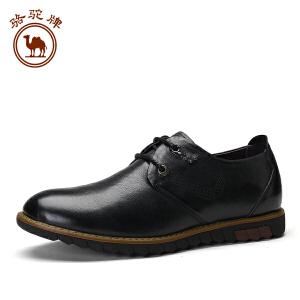 骆驼牌 新品男士商务正装皮鞋 系带办公室日常休闲男鞋