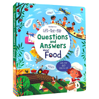 Usborne Questions and Answers about Food 问与答翻翻书 了解食物 儿童生活百科