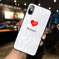 苹果X手机壳iPhone XR菱形钻石纹8plus网红女款XSMAX情侣款7plus个性创意XS简约 X-be lov