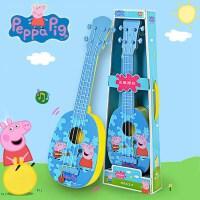 正版小猪佩奇玩具尤克里里佩琪儿童吉他可弹奏初学者1-3岁男女孩