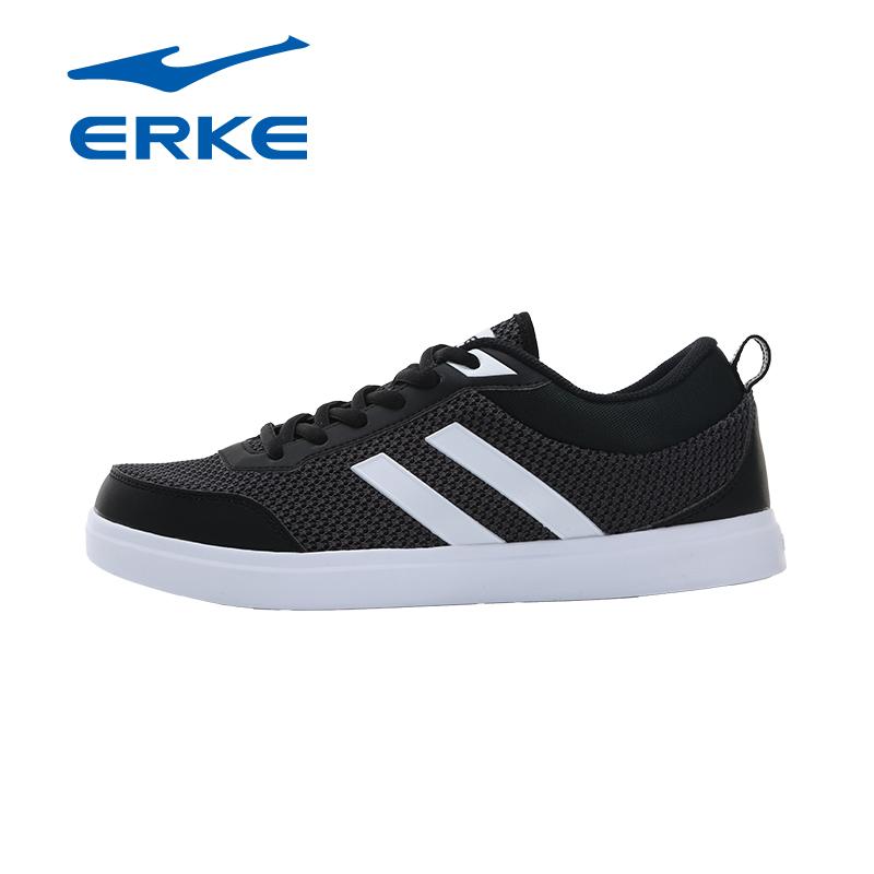 【年货节·满200减100】鸿星尔克男鞋 ERKE2017新款生活网球鞋防滑耐磨旅游鞋运动鞋子品牌直营,正品保证
