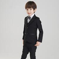 韩版花童礼服款小孩西服潮男童西装套装儿童钢琴演出服