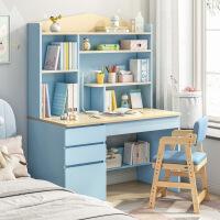 【热销】电脑桌台式办公桌家用简易书桌书架组合现代简约学生写字转角桌子