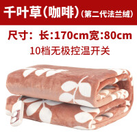 【好货优选】彩阳电热毯单人学生宿舍女双人双控加热调温防水安全电褥子
