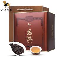 八马茶叶 陈香型铁观音 乌龙茶老铁2011罐装500克