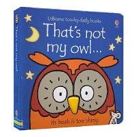 Ushorne That's Not My Owl 那不是我的猫头鹰 原版 英文触摸书 儿童英语读物 英文原版进口图书