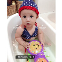 宝宝洗澡婴儿幼儿戏水儿童玩水玩具 洗浴小手鼓双语音乐BCD45