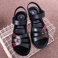 凉鞋女夏季时尚软底坡跟孕妇外穿女士休闲凉鞋中老年人鞋子女