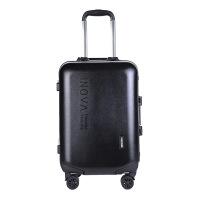 2018新款经典拉链硬箱旅行箱 pc拉杆箱 万向轮行李箱 纯色拉杆箱 铝框款