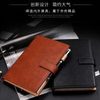 A5加厚笔记本 a5皮质搭扣皮本子 商务办公记事本 日记本 定制笔记本 可定做LOGO