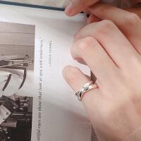 戒指女开口小指潮人学生个性饰品