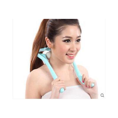 肩颈部力度大小可调功能滚轮触点按摩仪颈部按摩器颈椎滚轮式 品质保证 售后无忧 支持货到付款