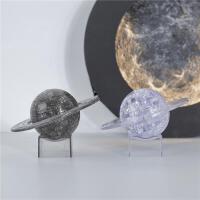 立体水晶拼图星球宇宙模型3d透明拼装成年减压手工制作diy玩具