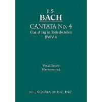 【预订】Cantata No.4. Christ Lag in Todesbanden, Bwv 4: Vocal S