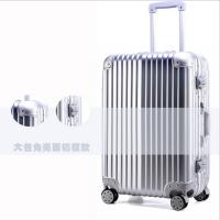 2018新款铝框旅行箱拉杆箱万向轮行李箱22密码女男20学生24韩版皮箱子28寸