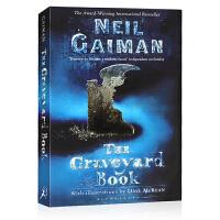 英文原版小说青少年 10 15岁 The Graveyard Book 坟场之书 Neil Gaiman 尼尔盖曼 纽