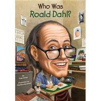【现货】英文原版 Who Was Roald Dahl? 罗尔德达尔是谁 名人认知系列 中小学生读物