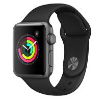 【当当自营】Apple Watch Series 3智能手表(GPS款 42毫米 深空灰色铝金属表壳 黑色运动型表带