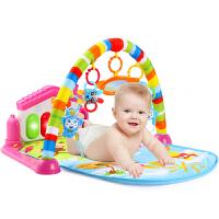育儿宝 健身架 婴儿脚踏琴摇铃挂件多功能男孩女孩宝宝爬行垫游戏毯早教音乐儿童玩具用品