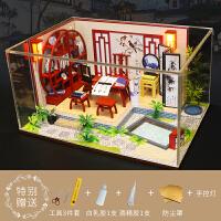【好货优选】diy小屋手工制作房子模型建筑拼装迷你别墅创意公主房玩具女