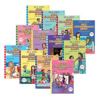 保姆俱乐部小说1-12册 The Baby Sitters Club 1-12 英文原版 同名高分美剧原著 青少年英语课