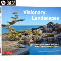 Visionary Landscapes 美国加拿大等地的 日式花园景观设计 庭院景观设计书籍