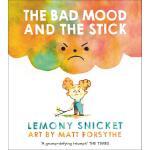 英文原版 小卷毛的坏心情 雷蒙・斯尼奇 Matthew Forsythe插画 儿童情绪管理绘本 The Bad Moo