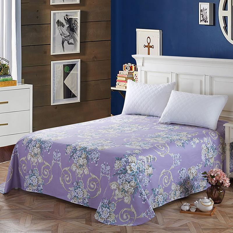 当当优品 纯棉斜纹床上用品 床单250*230cm 芬妮当当自营 100%纯棉 不易褪色 0甲醛 透气防潮 大尺寸