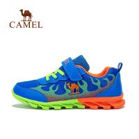 camel骆驼童鞋 中童儿童户外运动鞋男童魔术贴休闲跑步鞋