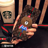 三星s8手机壳S9硅胶s8+手机套note8个性S9+创意Galaxy男plus女款潮牌note8软 三星NOTE8(