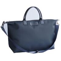 超大号斜挎包短途旅行包大容量旅行袋手提肩背三用饺子包女 大