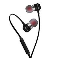 金属入耳耳机磁吸线控可调音重低音通用手机耳机KDK205